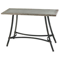 Rockwell 43 X 16 inch Galvanized and Rustic Table Home Decor