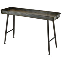 Chamberlin 47 X 16 inch Grey/Roast Console Table, Rectangle