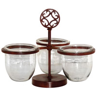 Savanna Montana Rustic/Clear Server