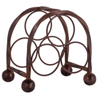 Rodeo Montana Rustic Wine Rack, 3 Bottle
