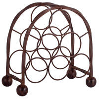 Rodeo Montana Rustic Wine Rack, 6 Bottle