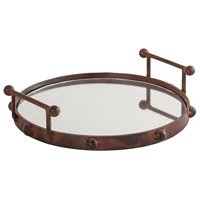 Tabern Mirror and Montana Rustic Tray, Small