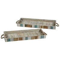 Carril Natural with Weathered Shores Tray