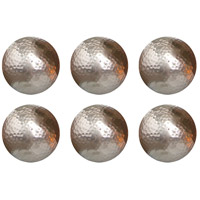 Urban Hammered Silver Sphere