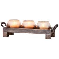 Pomeroy 670022 Marin Ashwood/Caramel With White Light Tray