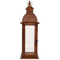 Vineyard 7 inch Antique Brown Lantern Ceiling Light