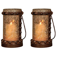 Pomeroy 769283/S2 Mission 12 X 7 inch Candle Lantern