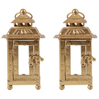 Ellis 4 inch Artisan Gold Lantern Ceiling Light