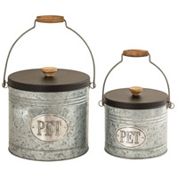 Pomeroy 771743 Countryside Antique Silver Pet Product