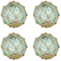Pomeroy 780547/S4 Pescador Azure Artifact and Jute Sphere