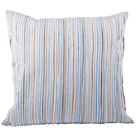 Pomeroy 902215 Rampart 20 inch Cool Waters with Sand Pillow Cover