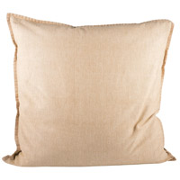 Pomeroy 902376 Chambray 24 X 6 inch Sand Decorative Pillow