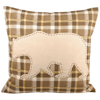 Pomeroy 903649 Woodlyn Crema with Dark Earth Pillow Cover