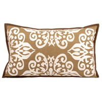 Elk 20 X 6 inch Dark Earth/Crema Decorative Pillow