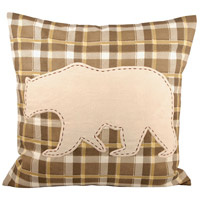 Woodlyn 20 X 6 inch Dark Earth/Crema Decorative Pillow