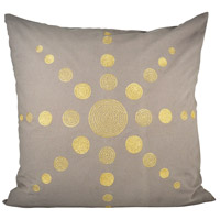 Pomeroy 904585 Andor 24 X 6 inch Chateau Graye/Gold Decorative Pillow
