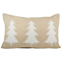 Pomeroy 905117 Winter Edge 26 inch Crema/Sand Pillow Cover photo thumbnail