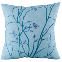 Windsong 20 X 6 inch Blue Meadow Pillow