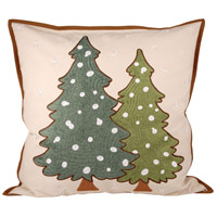 Pomeroy 905537 Forester 20 X 20 inch Evergreen with Sand Pillow Cover