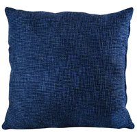 Pomeroy 905551 Tystour 24 inch Deep Navy Blue Pillow Cover