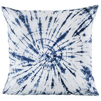 Pomeroy 905568 Vortizan 24 inch Crema with Navy Pillow Cover
