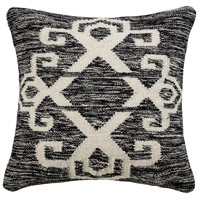 Pomeroy 908255-P Sangwa 20 X 0 inch Distressed Black/White Pillow Cover photo thumbnail