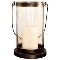 Schooner 8 inch Rustic/Clear Lantern Ceiling Light