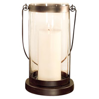 Schooner 11 inch Rustic/Clear Lantern Ceiling Light