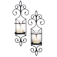 Pentaro 7 inch Rustic/Clear Wall Sconce Wall Light