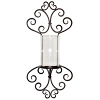 Shefield 14 inch Rustic/Clear Wall Light