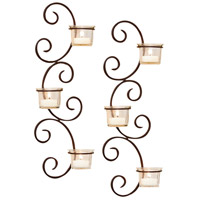 Classic 5 inch Rustic/Clear Wall Sconce Wall Light