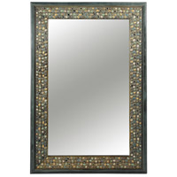 Jewell 30 X 20 inch Antique Motley Mirror Home Decor