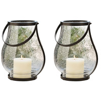 Pomeroy 915734/S2 Savanna 15 X 8 inch Clear Bubble Hanging Wall Lanterns