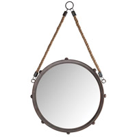 Pomeroy 916380 Tabern 22 X 12 inch French Antique Copper/Mirror Wall Mirror, Small photo thumbnail