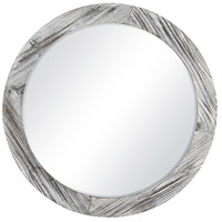 Pomeroy 916748 Solis 34 X 34 inch Mirror/Weathered White Wall Mirror, Large photo thumbnail