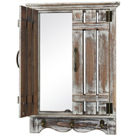 Pomeroy 916793 Terrace 24 X 17 inch Mirror/Smoked Fir Wall Mirror photo thumbnail
