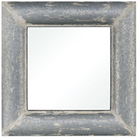 Pomeroy 916908 Coventry 36 X 36 inch Distressed White Galvanized Wall Mirror photo thumbnail