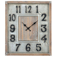 Wellington 20 X 17 inch Wall Clock