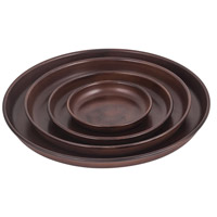Hillside Montana Rustic Outdoor Plant Trays