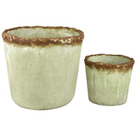 Contempo Antique Verde Outdoor Pots