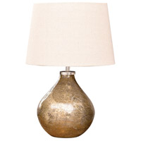 Baroness 20 inch Antique Sand Artifact Table Lamp Portable Light, Small