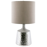 Pomeroy 981104 Pierce Silver Table Lamp Portable Light