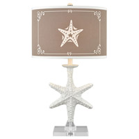 Pomeroy 981203 Beachcrest 29 inch 150 watt Sand and White Table Lamp Portable Light