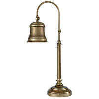 Pomeroy 981364 Kensington 25 inch 40 watt Antique Brass Table Lamp Portable Light