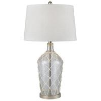 Pomeroy 981708 Bolle 29 inch 150 watt Clear/White Table Lamp Portable Light