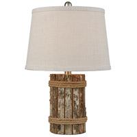 Pomeroy 981715 Rockport 20 inch 100 watt Natural/Cream Table Lamp Portable Light