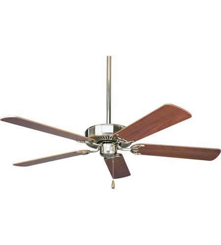 Progress p2501 09 airpro 52 inch brushed nickel ceiling fan in progress p2501 09 airpro 52 inch brushed nickel ceiling fan in cherrynatural cherry aloadofball Choice Image