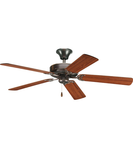 Progress Lighting AirPro Ceiling Fan in Antique Bronze P2501-20 photo