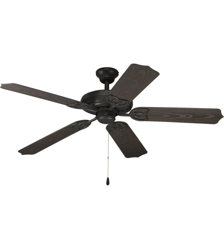 Progress p2502 80 airpro 52 inch forged black ceiling fan in toasted oak mozeypictures Image collections