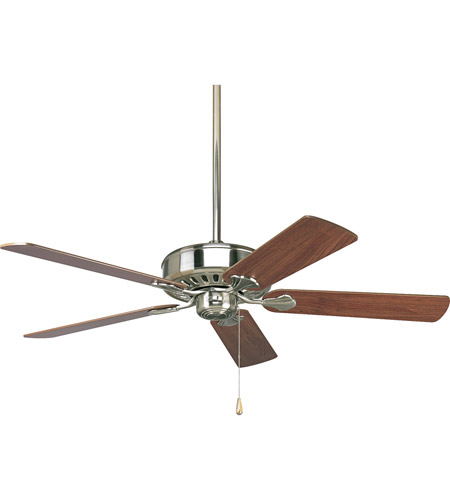 Progress P2503-09 AirPro 52 inch Brushed Nickel Ceiling Fan photo